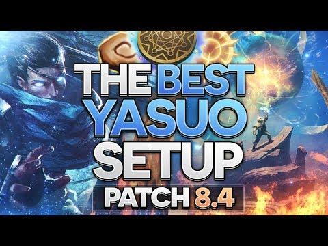 NEW BEST YASUO RUNEPAGE, TIMEWARP KLEPTO YASUO [Patch 8.4]
