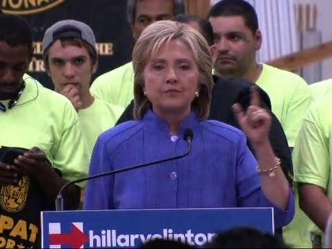 Clinton Earns Intl. Painters Union Endorsement