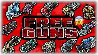 Pixel Gun 3D - HOW TO GET FREE GUNS! - GET ANY WEAPON FOR FREE!!!! (GLITCH) 100% REAL