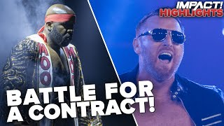 Heath Fights FOR A JOB in Championship Battle with Moose! | IMPACT! Highlights Aug 4, 2020