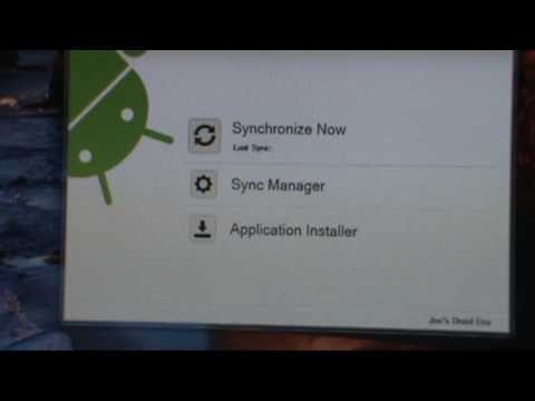 How to sync a HTC Droid Eris with Windows 7 using HTC Sync  ***UPDATED***