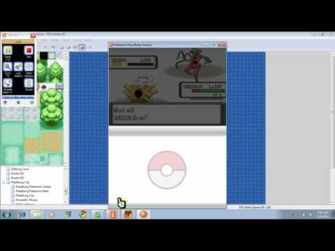 Pokemon DawnRuby/DuskSapphire-Deoxys Puzzle/Battle
