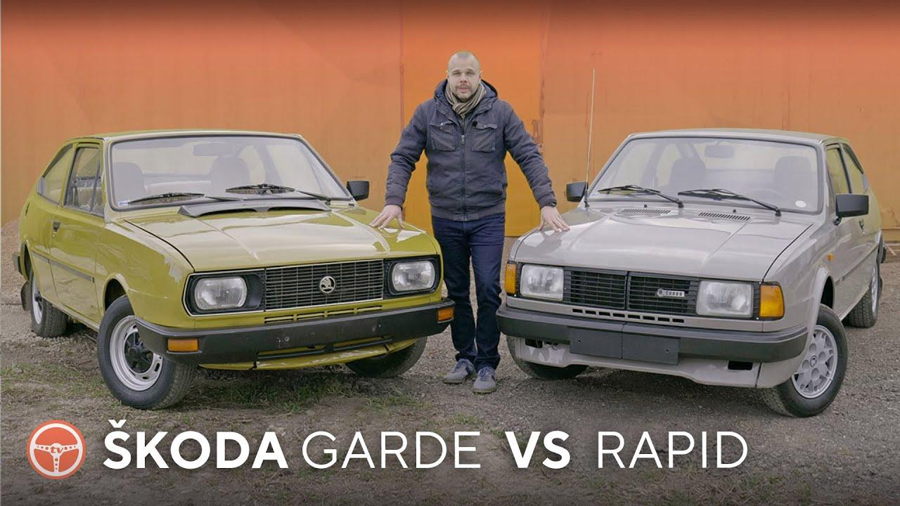 Škoda Garde a Rapid boli socialistické sny o športovom aute - volant.tv