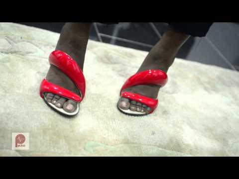 Julian Hakes Mojito Shoes' Demonstration - Pulse TV Exclusive