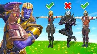 Listen to Thanos... Or Else (Thanos Says)
