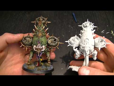 How to paint: Foetid Bloat Drone. No Airbrush!