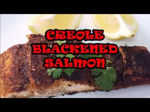 CREOLE BLACKENED SALMON
