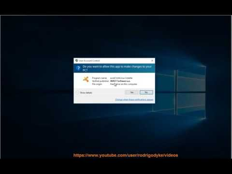 Fix Error Message When Installing/Updating Avast Product