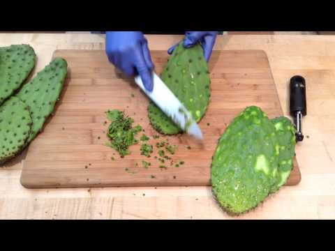 How to Prepare Nopales (Cactus Pads) | Sunset