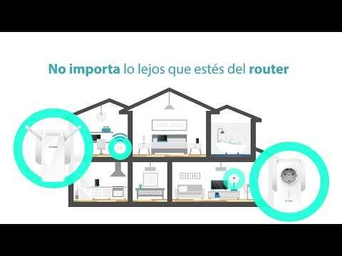 D Link PLC Amplificador WiFi Internet por red electrica DHP W611AV