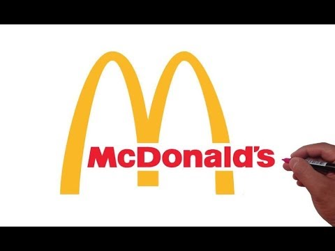 How to Draw the McDonald's Logo