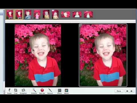 Compare picture edits side by side in iPhoto '11