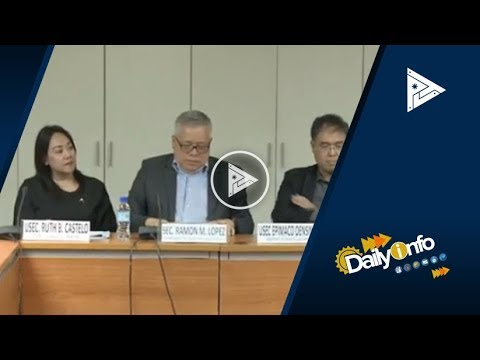 Paglalagay ng SRP sa agricultural products, pinag-aaralan