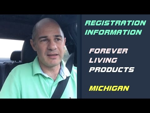 Michigan Forever Living Company Business Registration