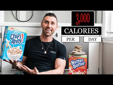 3,000 Calorie A Day Diet | IIFYM DAY OF EATING