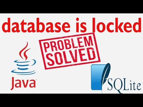 Java SWING #11 - Database shows old record in java netbeans and sqlite | database is locked problem