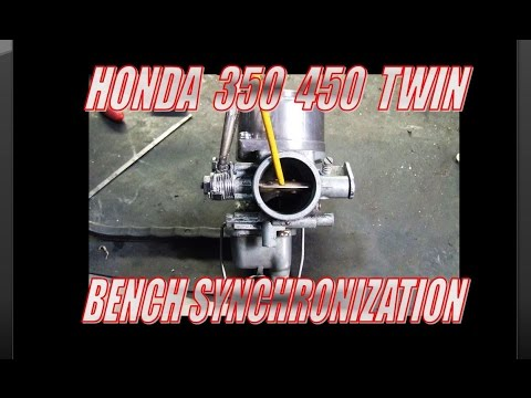 Honda CL450 Carb Bench synchronization