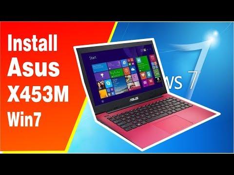 Install Laptop Asus X453M Windows 7 Dengan Booting Flasdisk