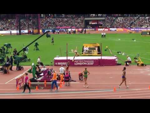 IAAF World Athletics Championships. London 2017. Day 2 Morning Session. Heptathlon, 100M, 800M