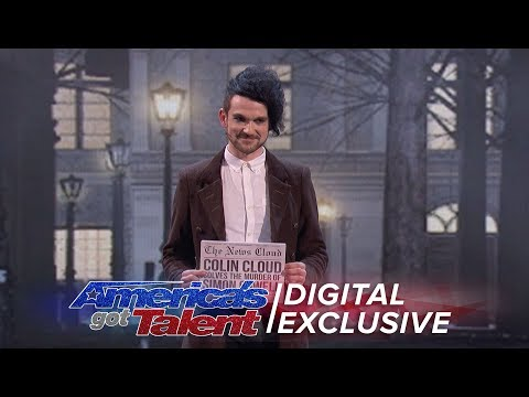 The Magnificent Magic of Colin Cloud - America's Got Talent 2017