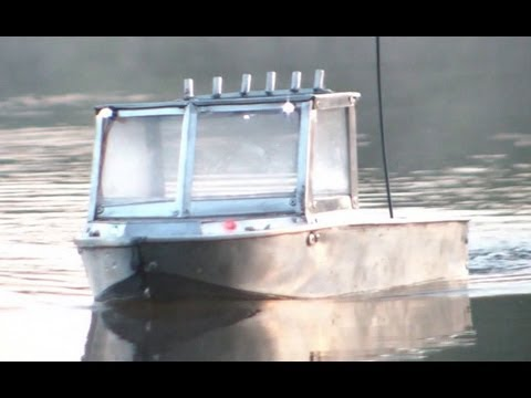 Rc work & fishing boat water-jet     -madmaxRCchannel-