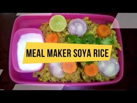Meal Maker Soya Rice