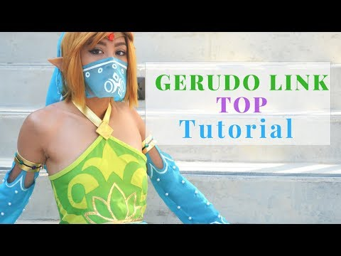 Gerudo Link Cosplay Tutorial: Top