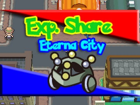 How / Where To Get 'Exp. Share' : Pokemon Diamond/Pearl/Platinum!