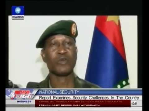 REPORT: Analysis Of Security Challenges In Nigeria