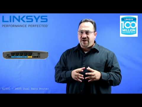 Linksys E2500 N600 Router