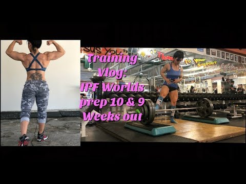 Training Blog: Worlds Prep 9&8 Weeks out