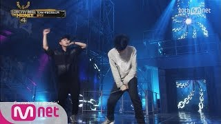 [SMTM4] Black Nut with Verbal Jint&San E – 'M.I.L.E(Make It Look Easy)' @ 1st Contest EP.08