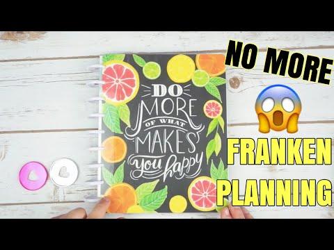 JUNE 2018 HAPPY PLANNER SETUP | HOME PLANNER SETUP | LIFE PLANNER + HOME PLANNER