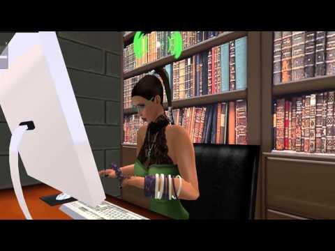 Curso para dar clases usando el programa Second Life 3D (parte 1)