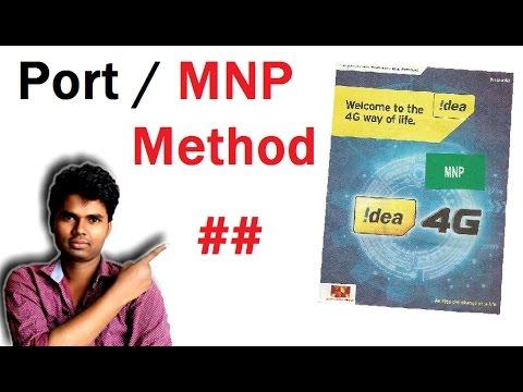 idea caf Port idea sim or MNP new  method idea ####