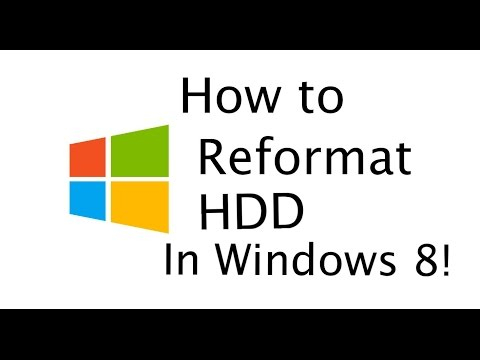 How to Reformat an External Hard Drive in Windows 8 & 10