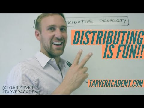 Distribution is DOPE!! // TARVER ACADEMY MATH
