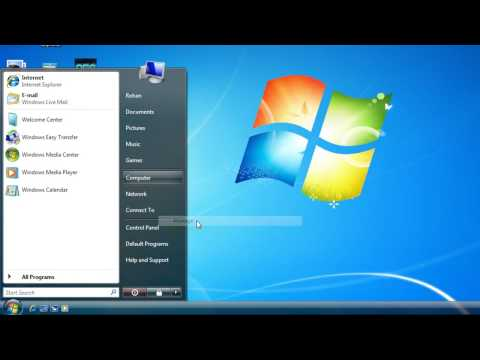 How to Partition a hard drive  in windows vista or windows 7