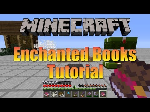 Minecraft - Enchanted Books Tutorial