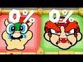 Super Mario Party Minigames Mario And Peach Vs Bowser And Luigi