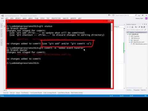 JeremyBytes - Git Basics for Visual Studio Developers
