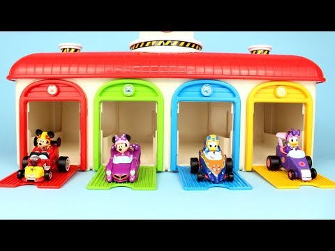 Mickey Mouse Roadster Racers Tayo Garage Surprise Toys PJ Masks Mashem Num Noms Moj Moj Minnie Mouse