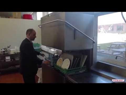 Hobart's New Hood Type Dishwasher