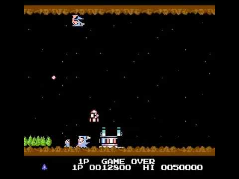 Gradius (NES) - Game Over [60fps]
