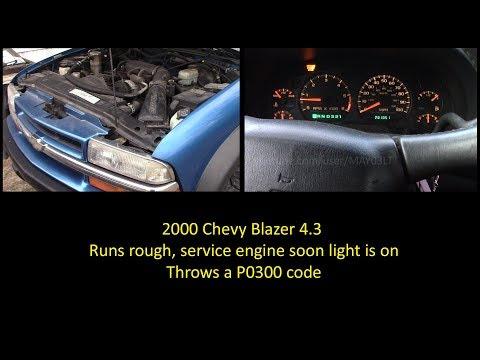 2000 Chevy Blazer P0300 - A