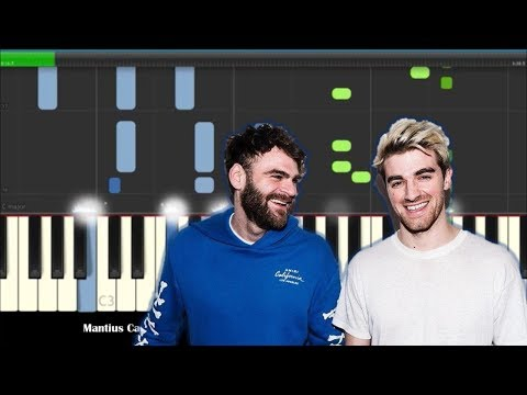 How To Play Everybody Hates Me by The Chainsmokers  - Piano Tutorial