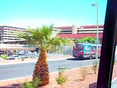 (3/3) Riding Bus from Downtown Las Vegas to Airport
