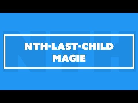Anderes Styling je nach Elementanzahl | nth-last-child Magie