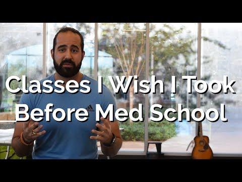 Classes I Wish I Took Before Medical School