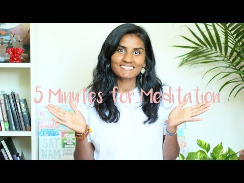 5 Minutes for Meditation | Guided Video